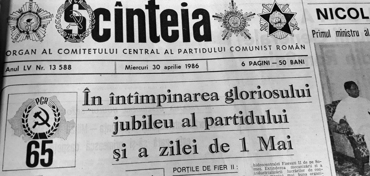 Accidentul de la Cernobîl în presa comunistă din România